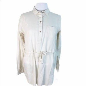 Mountain HardWear Belted Popover Tunic Top M